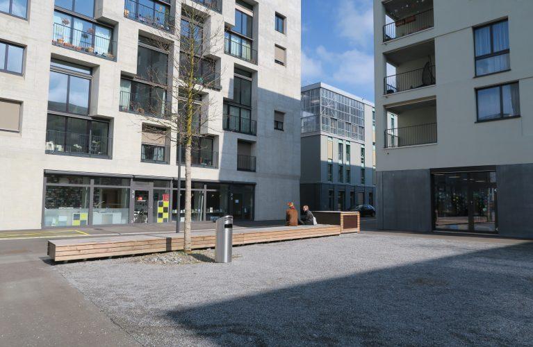 Plate-forme logement - Atelier 5 - Visite des coopératives de logement à Zurich - Copyright: macaron, Joël Christin