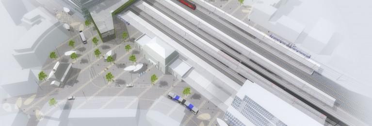 Vue générale du projet, Groupement Rayon Vert 2014